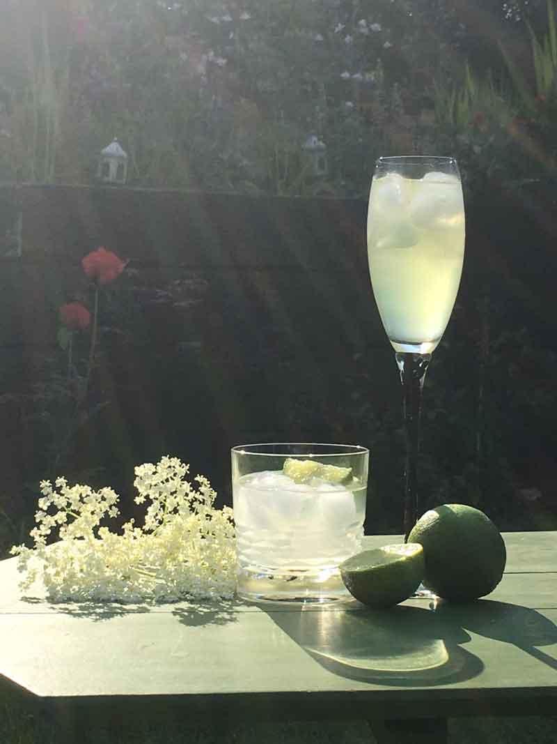 Nonpareil 75 cocktail