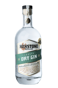 London Dry Gin bottle