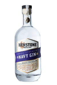 Navy Gin bottle