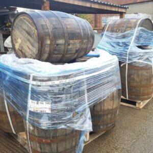 Barrels just delivered