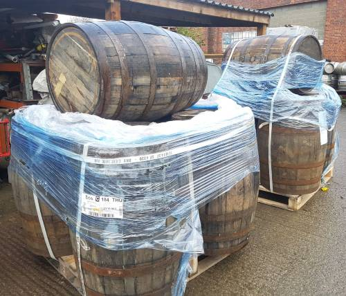 Barrels just delivered