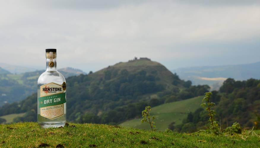 Henstone London Dry Gin near Llangollen