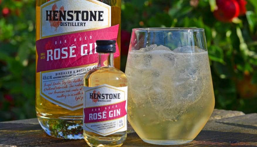 Henstone Rosé Gin and Ginger Ale