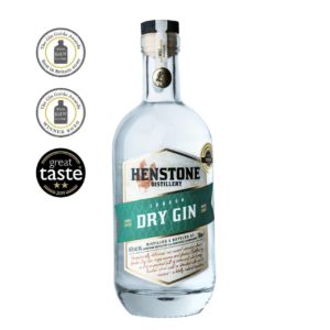 London Dry Gin with awards