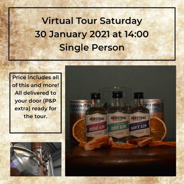 Single person virtual tour ticket