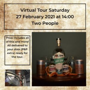 Virtual Distillery Tour 27th February 2021 Ticket