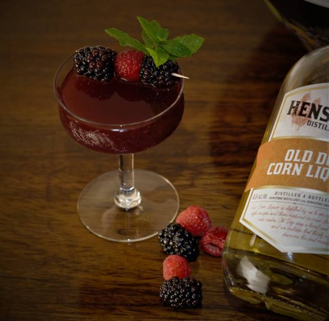Berry Old Fashioned cocktail