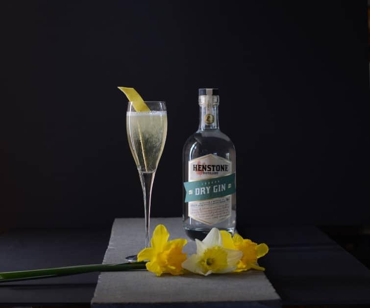 Italian 75 Cocktail Photo