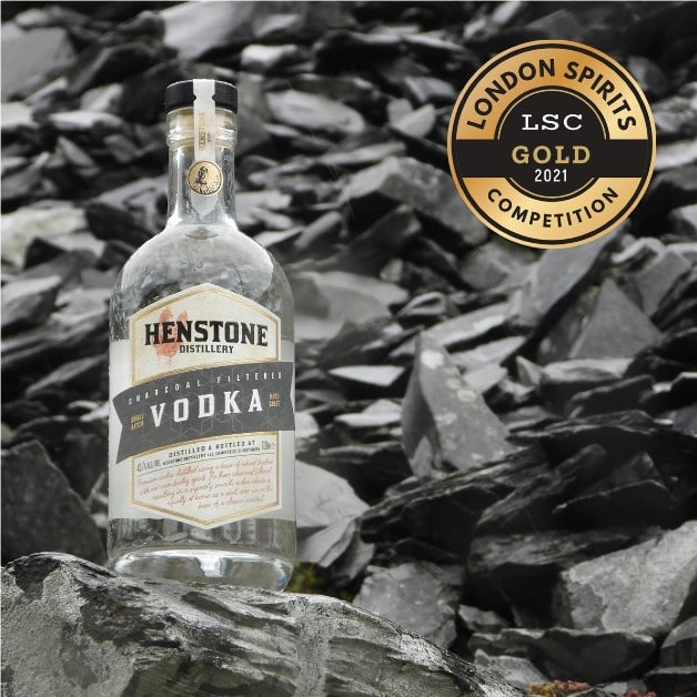 Vodka with Gold Medal from London Spirits Competition
