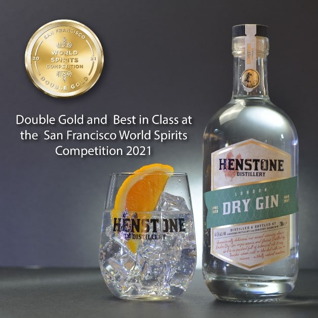 London Dry Gin with Double Gold Medal