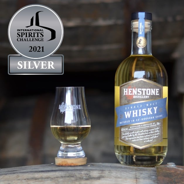Henstone Whisky with winning logo